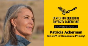 Propelled by a Strong Climate Message, Patricia Ackerman Wins NV-02 Democratic Primary