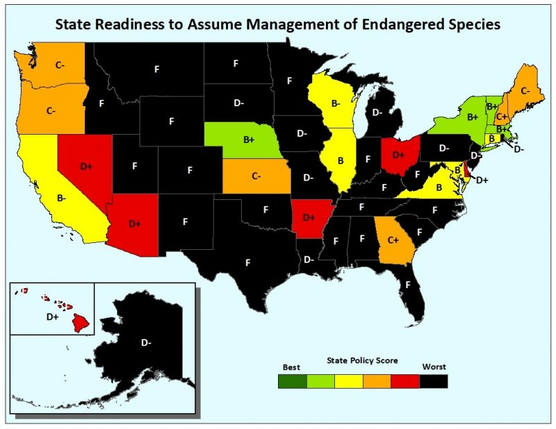 State ESA Readiness Grades