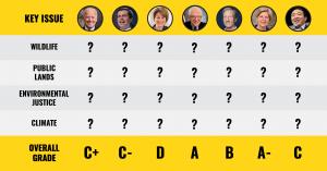Sanders, Warren Get Top Marks in Environmental Voter Guide