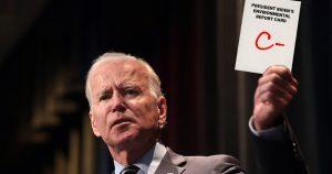 President Biden Receives C- Grade on Environment at Six-Month Mark